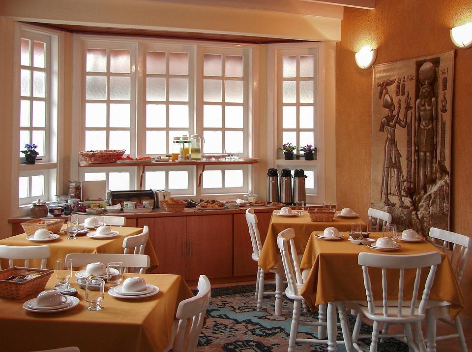 buffet colazione di un albergo