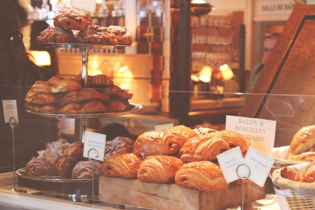 Buffet della colazione all'italiana