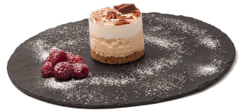 piatto ardesia dessert