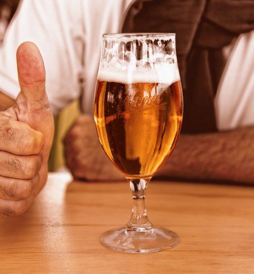Bicchieri per servire la birra