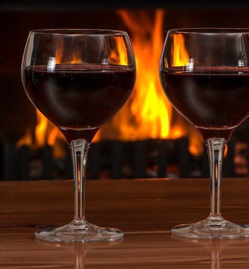 Calici da vini rossi importanti