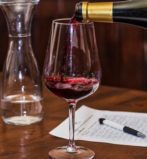 Calici da vino o per cocktails